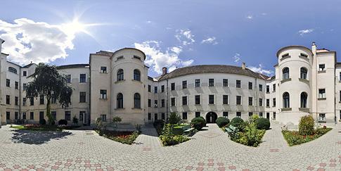 Curtea Interioara a Prefecturii Mures